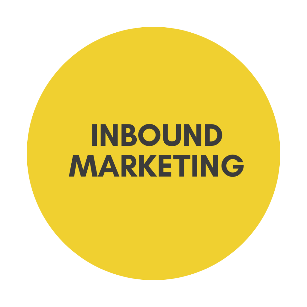 Inbound marketing digital communication