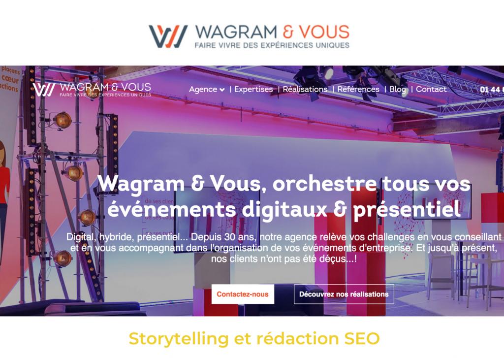 Référence Wagram & Vous